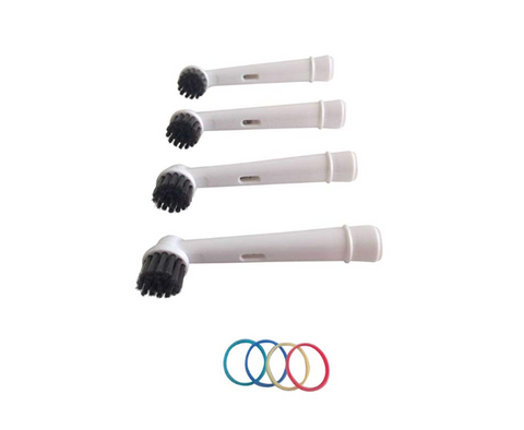 Bamboo Charcoal Infused Bristles Oral B-Compatible Toothbrush Heads