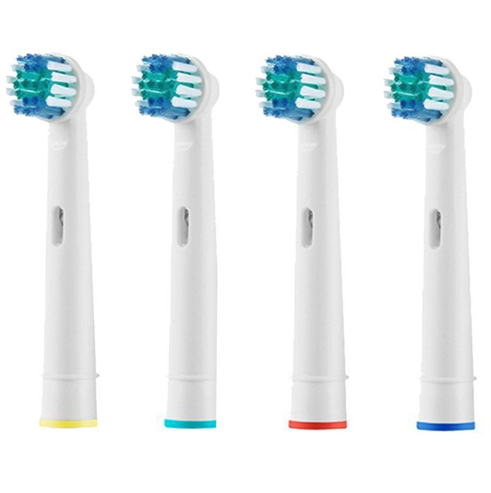 Replacement Electric Toothbrush Heads Pack Of 4 Compatible For All Oral B  Braun ... cb8d31feb85f