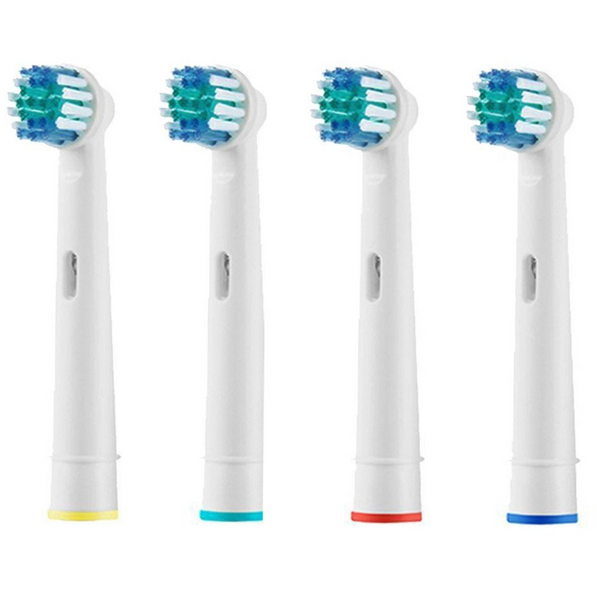 Replacement Electric Toothbrush Heads Pack Of 4 Compatible For All Oral B Braun