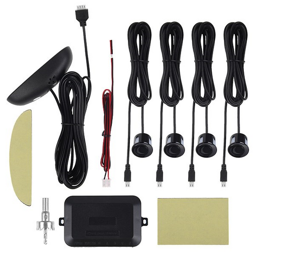 Car Parking Reverse Reversing Backup Radar System with 4 Parking Sensor Kit LED Display