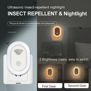 4 Pack/set Ultrasonic Insect Mosquito Killer Lamp Pest Repellent Night Lamp