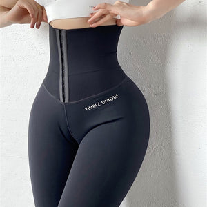 Women Stretchy High Waist Shapewear Girdle  Sport Leggings Yoga Pants