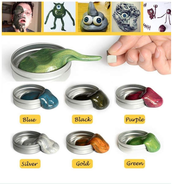 Magnetic Plasticine Hand Gum Silly Putty Clay Creative Crafts Education Toy Gift