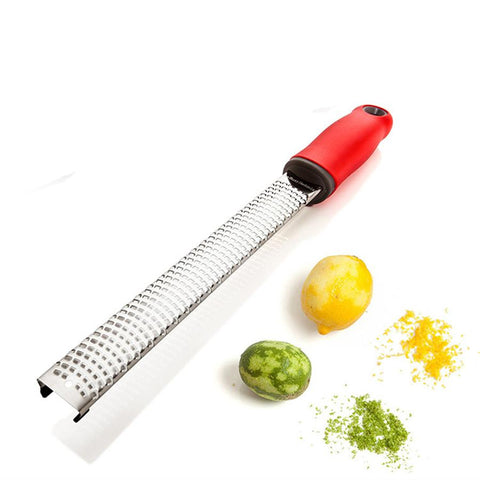 Stainless Steel Cheese Grater Zester Tool  Chocolate Vegetables Fruits Peeler