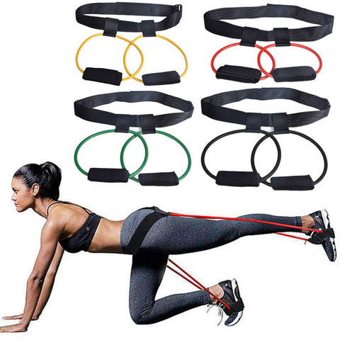 Latex Band Adjustable Resistance Bands for Butt Legs Muscle Training