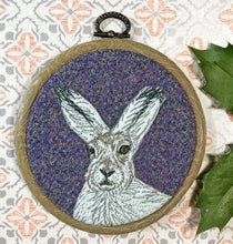 Load image into Gallery viewer, Arctic hare winter decoration