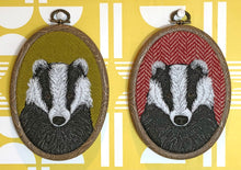 Load image into Gallery viewer, Badger hoop art