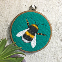 Load image into Gallery viewer, Bee hoop art