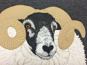 Black faced sheep cushion - made to order - 2 weeks