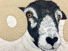 Load image into Gallery viewer, Black faced sheep cushion - made to order - 2 weeks
