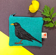 Load image into Gallery viewer, Blackbird coin purse