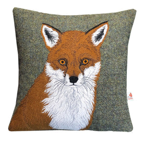 Fox cushion - made to order