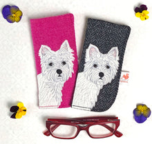 Load image into Gallery viewer, Westie glasses case