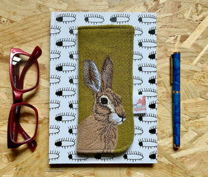 Hare glasses case