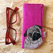 Load image into Gallery viewer, Pug glasses case