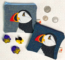 Load image into Gallery viewer, Puffin coin purse