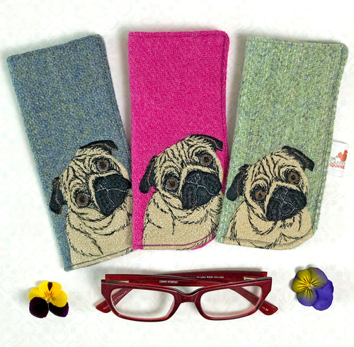 Pug glasses case