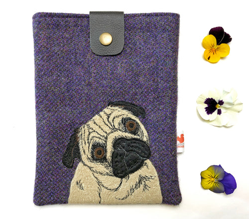 Pug tablet case