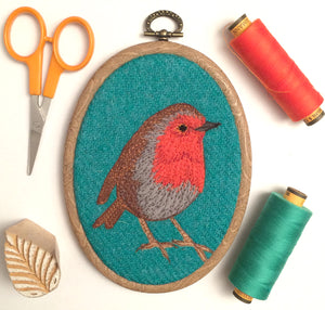 Robin hoop art - Made to order