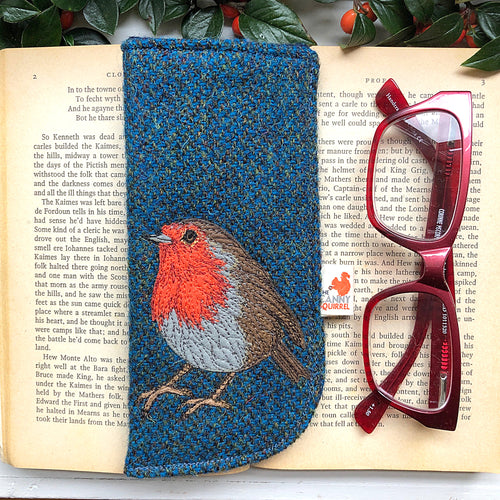 Robin glasses case