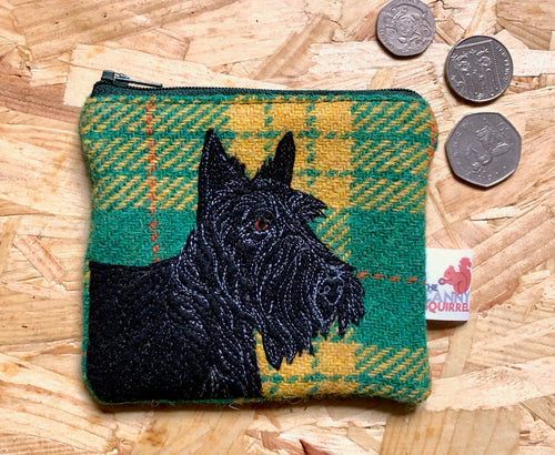 Scottie dog coin purse