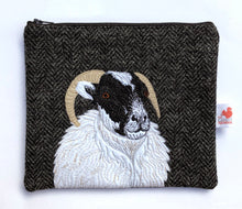 Load image into Gallery viewer, Sheep zip pouch