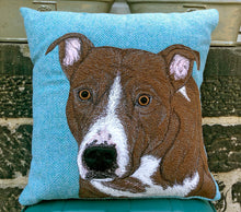Load image into Gallery viewer, Staffie cushion