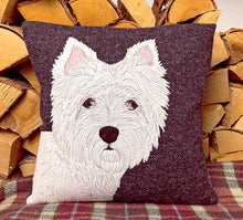 Load image into Gallery viewer, West Highland Terrier cushion
