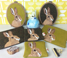 Load image into Gallery viewer, Hare zip pouch