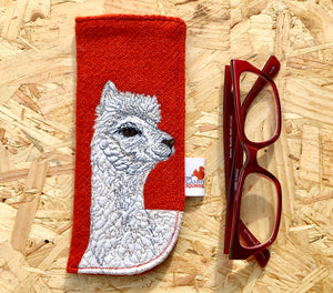 Alpaca glasses case