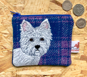 West Highland Terrier coin purse