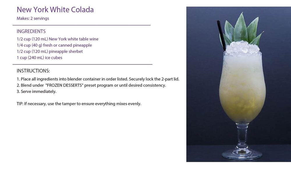 New York White Colada