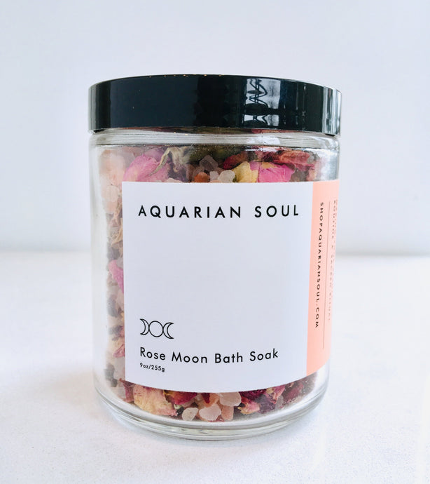 Rose Moon Bath Soak by Aquarian Soul