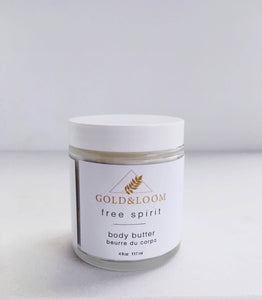 Body Butter - Free Spirit by Gold & Loom