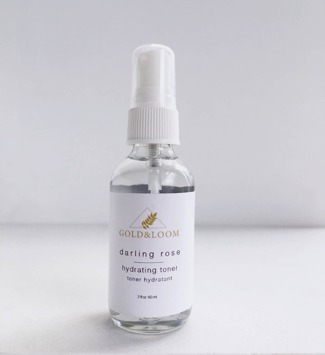 Darling Rose Toner by Gold&Loom