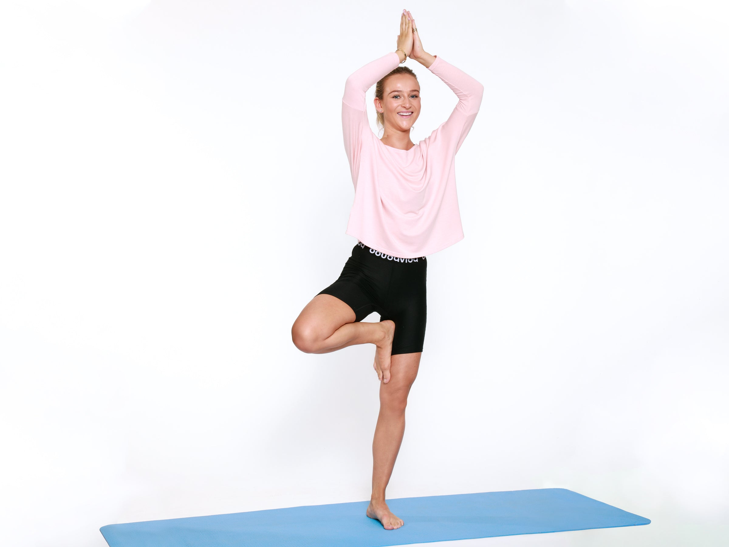 Boudavida How to do Yoga at Home - Tree Pose