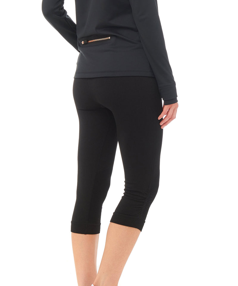 Boudavida Brio Capri Leggings Black