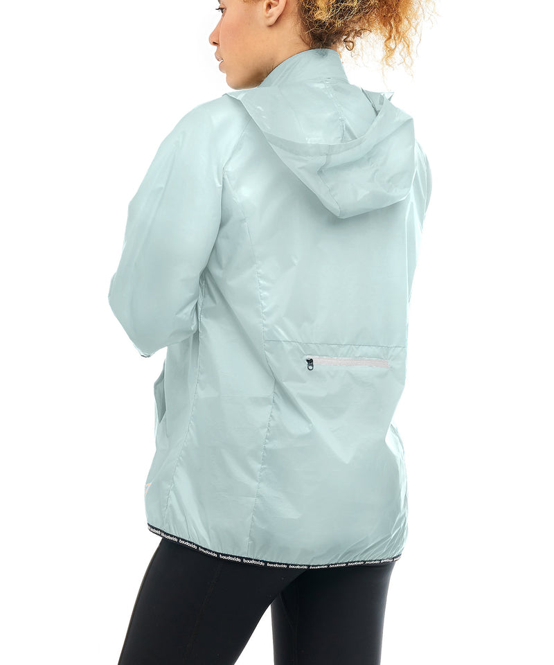 Boudavida Elements Pac-a-Mac Packable Rain Jacket Mint