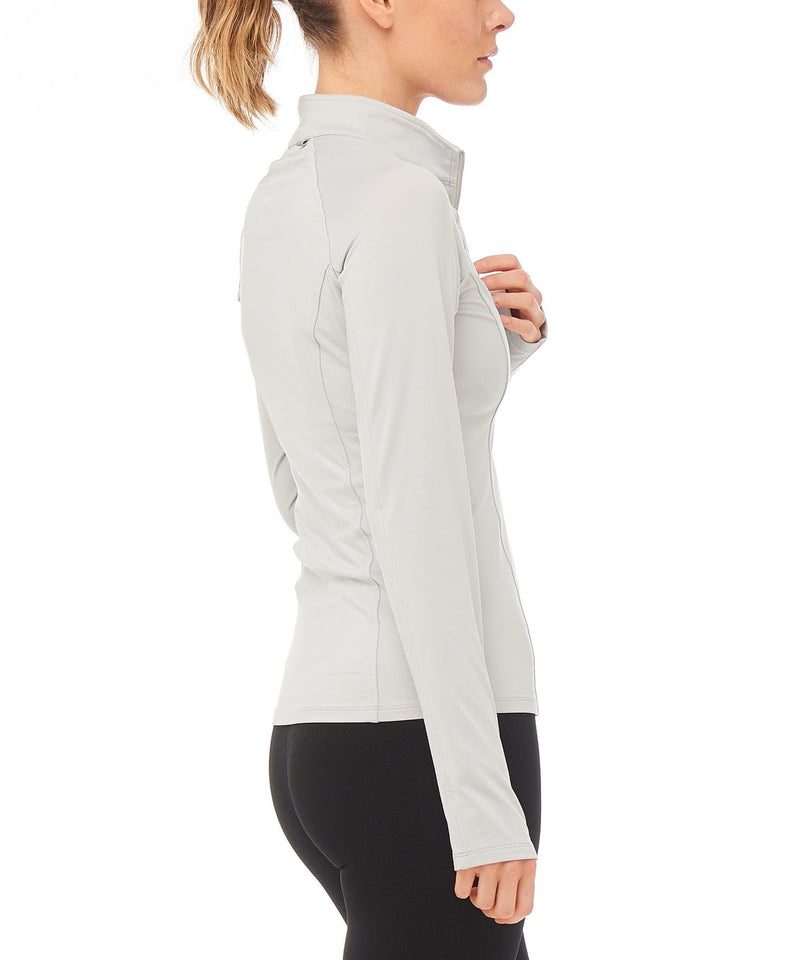 Boudavida Rise Midlayer Light Grey