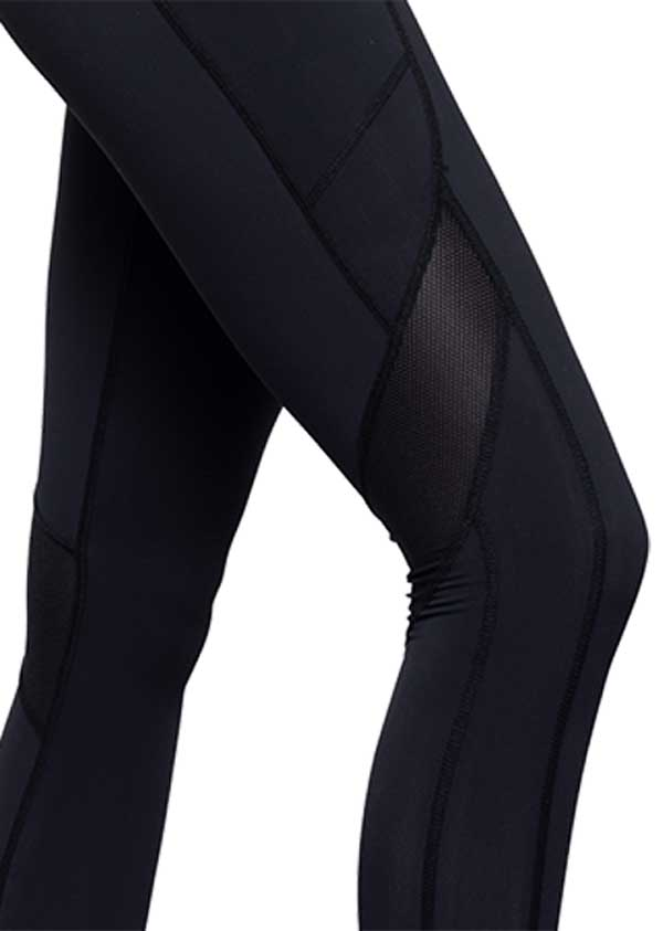 Boudavida Kinetic Leggings II Black