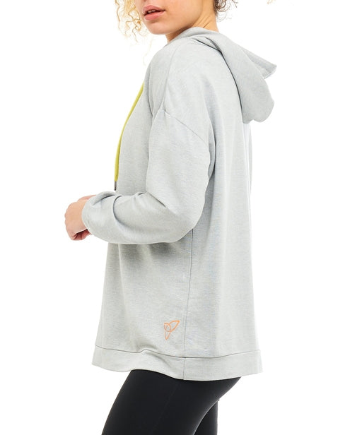 Boudavida Cwtch Hoodie Light Grey