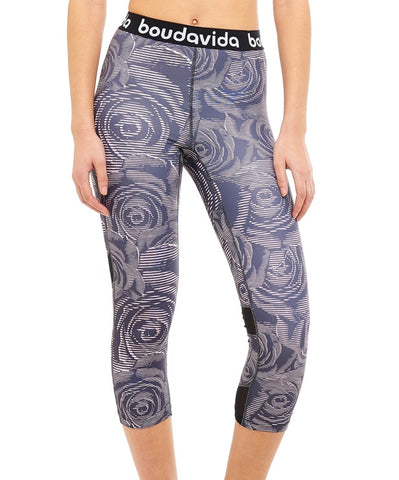 Zoom Leggings in Leaf Print