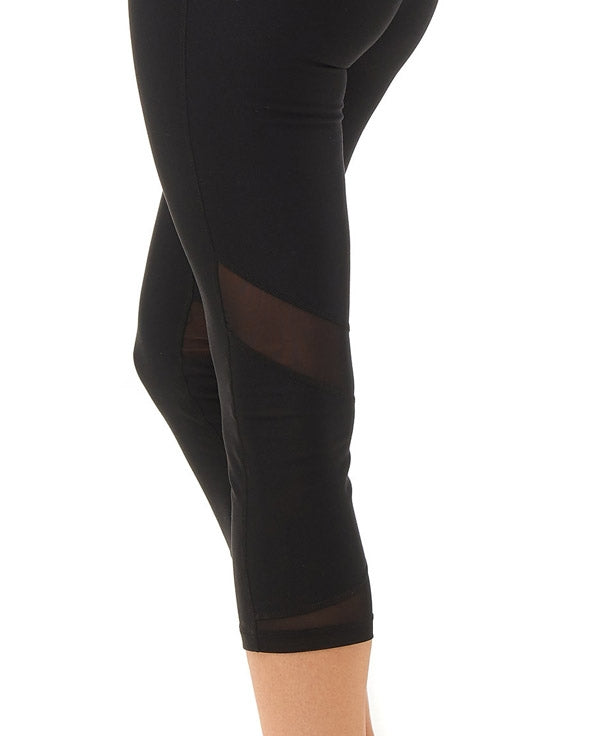 Boudavida 3/4 Zoom Leggings in black