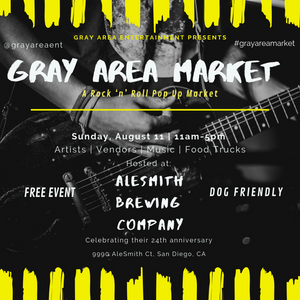 Show alert: Gray Area Market at Alesmith Brewery