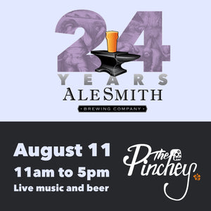 Event Alert - Alesmith Brewery 24 year Anniversary Event