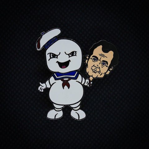 Stay Puft Marshmallow Man with Bill Murray's Head