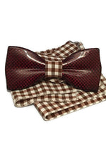 Red mens bow tie from carbon fiber 06_07