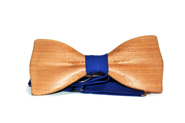 wooden bow tie, wooden bowtie, bowties for men, bow tie from beech wood, blue bow tie, wood bow tie, wood bowtie, men's bow tie, bow tie
