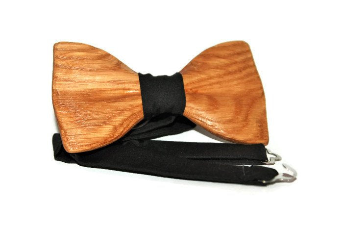 Wooden unisex bow tie. Wood bow tie for women. Handmade man bow tie. Bowties for girls. Groomsmen gift idea. Best price and free shipping.