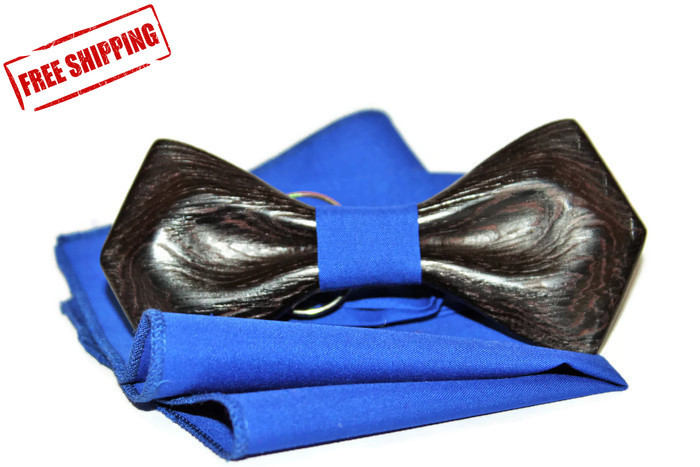 Wooden handmade bow tie, Unique and exclusive bowtie from Wood. Precious woods.